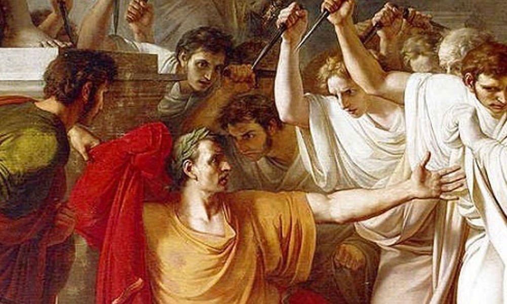 Gaius Julius Caesar 'The dictator of life' assassination story