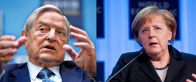 Soros och Merkel hyllar Sverige - Dagens PS