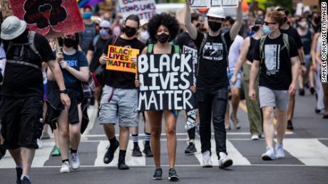 The Black Lives Matter protests preview the politics of a diversifying  America - CNNPolitics