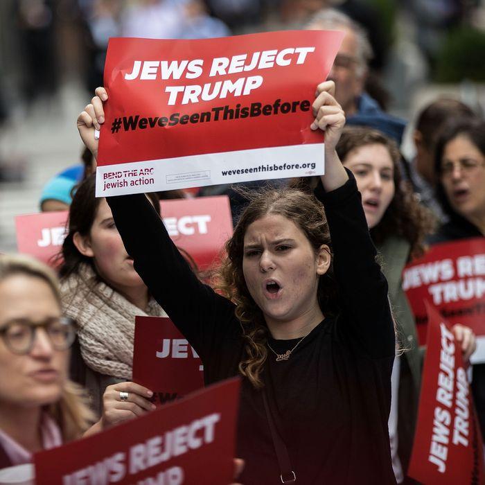 Trump's Claim That Democrats Are 'Anti-Jewish' Is Absurd