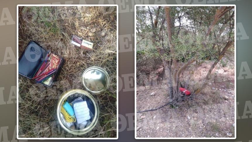 Φωτιά στην Αττική: Εμπρηστικός μηχανισμός βρέθηκε στο δάσος της Βαρυμπόμπης  - Δείτε φωτογραφίες
