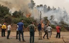 Φωτιά στην Εύβοια: Μαίνεται ανεξέλεγκτη σε τρία μέτωπα – Μπαράζ εκκενώσεων  οικισμών   Η ΚΑΘΗΜΕΡΙΝΗ
